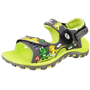 Kids Signature Sandal: 6963B Grey (Size: T7.5-13.5)